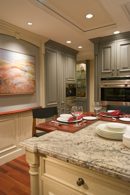 Normandy Home traditional-kitchen