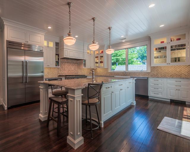North arlington va tudor home kitchen remodel for Expert kitchen designs