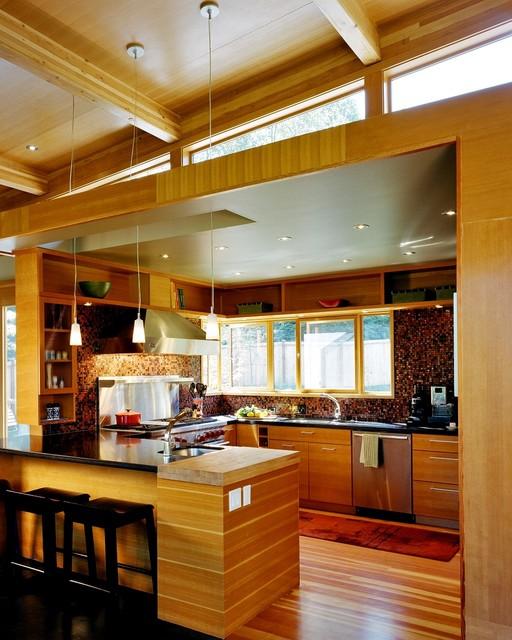 North Bend modern-kitchen