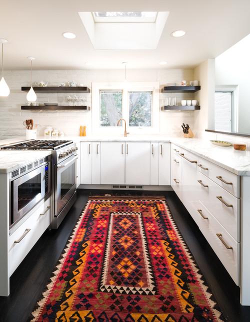North Boulder White Kitchen