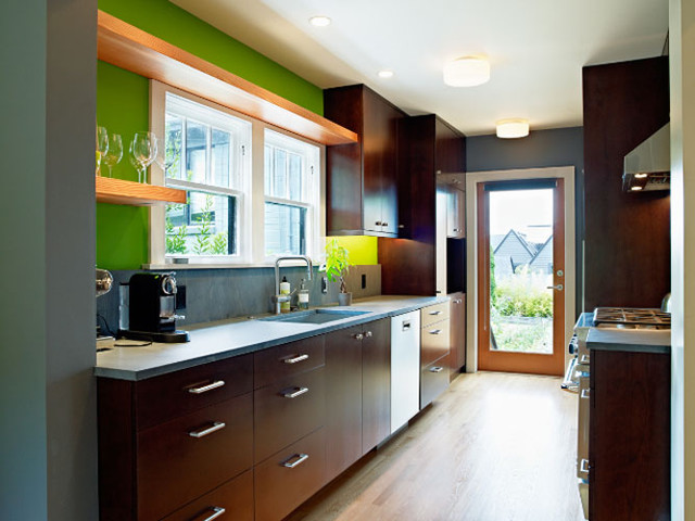 North Capitol Hill Residence modern-kitchen