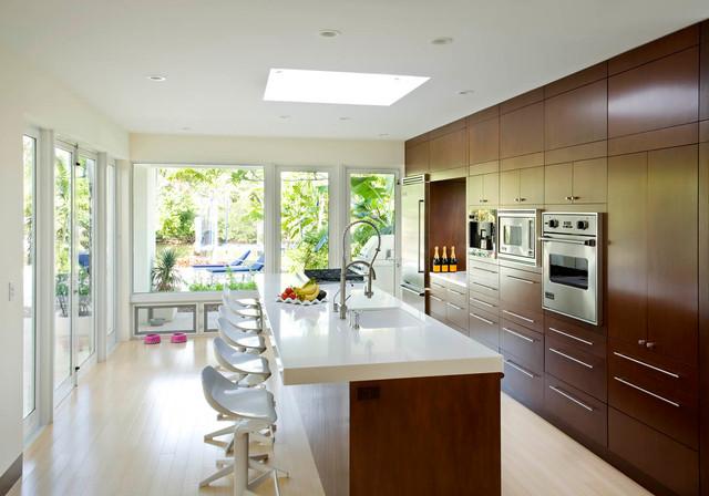 North Gordon Road House midcentury-kitchen