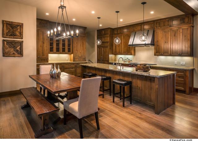 North Lake Tahoe Retreat transitional-kitchen