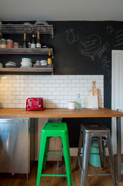 North London Flat Eclectic Kitchen London By