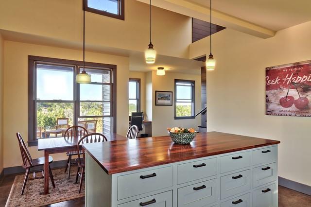 North Ridge Retreat rustic-kitchen