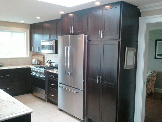 North Seattle Remodel Traditional Kitchen Seattle By Parr Cabinet Des