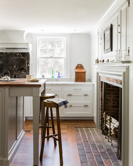 North Shore Antique Traditional Kitchen Boston By
