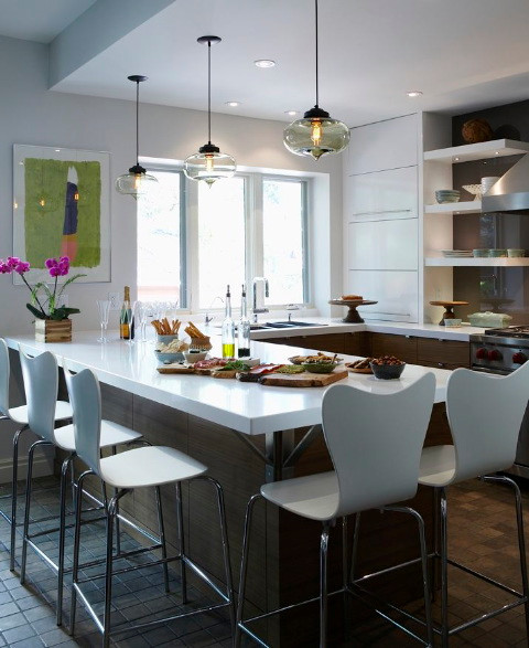 North Toronto 1 Contemporary Kitchen Toronto By Barbara Purdy Design Inc