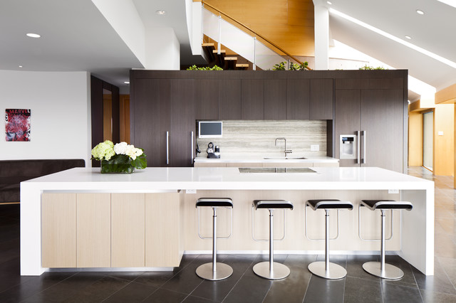North Van Renvovation contemporary-kitchen