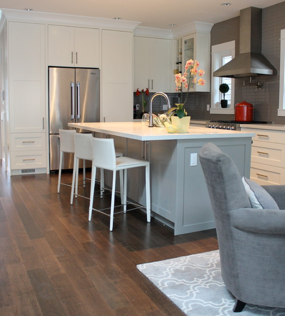 Vancouver New Home contemporary-kitchen