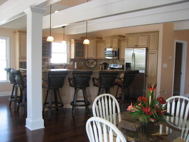 Custom Home - North Wildwood, NJ (2) traditional-kitchen