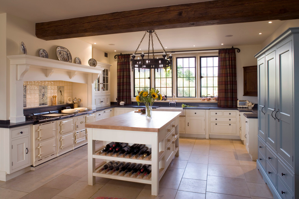 Inspiration for a cottage kitchen remodel in Oxfordshire