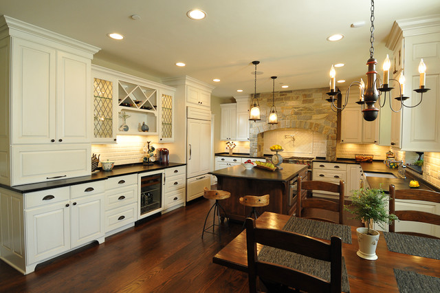 Rustic rustic kitchen chicago by kitchen design partners inc