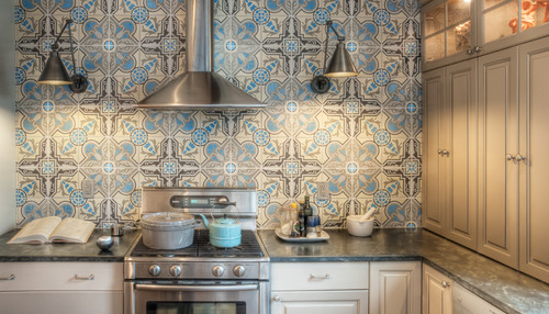 Once You Understand Your Layout, You Determine Where You Want To Install  Your New Backsplash. You Can Create A Decorateive Accent Wall, Or Only  Install It ...