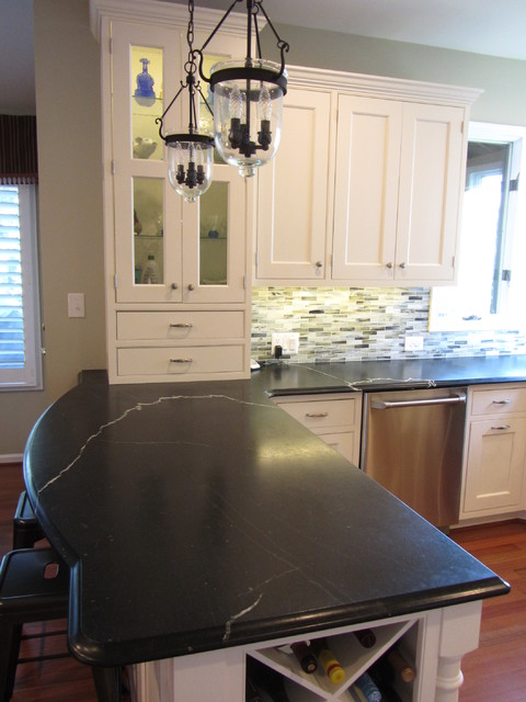 Northern Virginia Kitchen - Peninsula - Traditional - Kitchen - dc ...