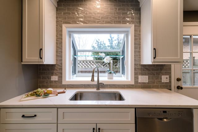 Northfield Kitchen Remodel Transitional Kitchen Chicago By North Shore Kitchen Bath Houzz Ie