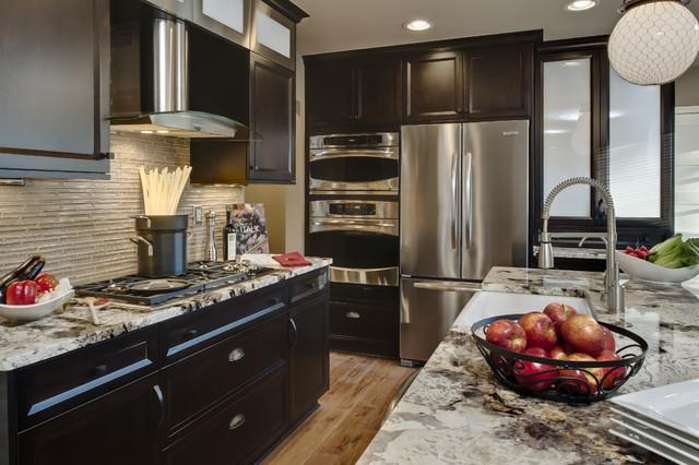 Northville Contemporary contemporary-kitchen