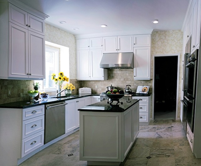 Northville Kitchen traditional-kitchen