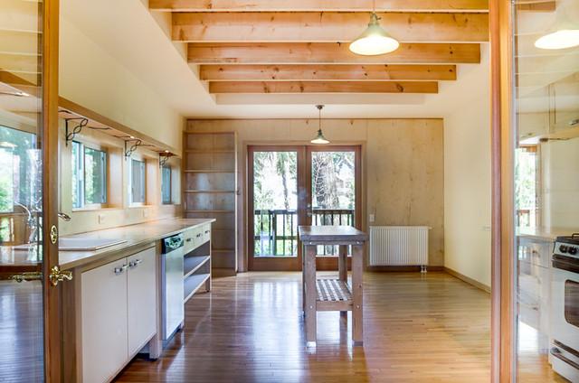 Northwest Contemporary Home contemporary-kitchen