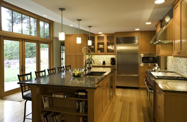 Northwest Contemporary Kitchen contemporary-kitchen