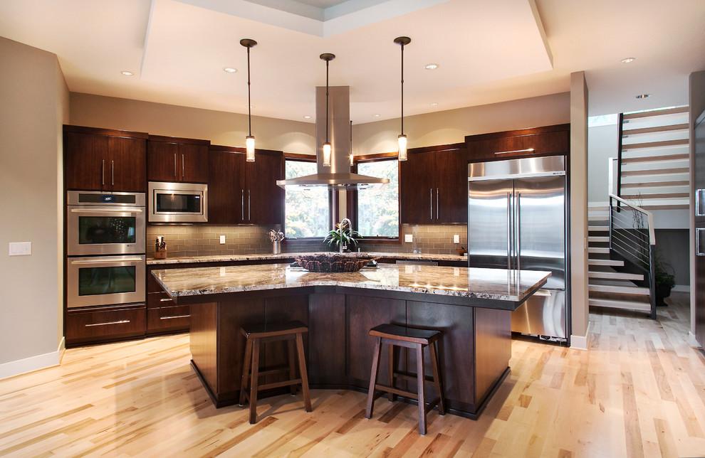 Northwest Contemporary Kitchen - Contemporary - Kitchen ...