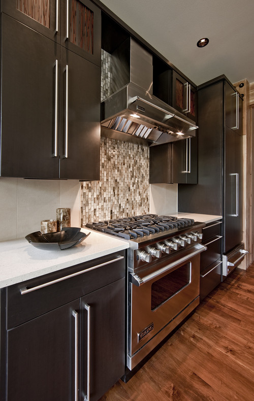 Northwest Territorial Residence contemporary kitchen