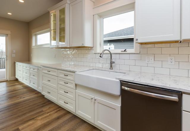 Norwalk New Construction farmhouse-kitchen