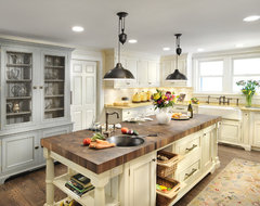 Not your aunts country kitchen traditional kitchen