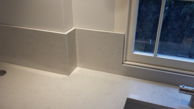 Notting Hill House In Caesarstone London Grey Quartz 20mm