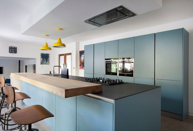 Notting Hill Contemporary Kitchen Belfast By Interior360