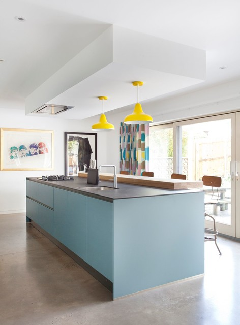 Notting Hill Contemporary Kitchen Belfast By
