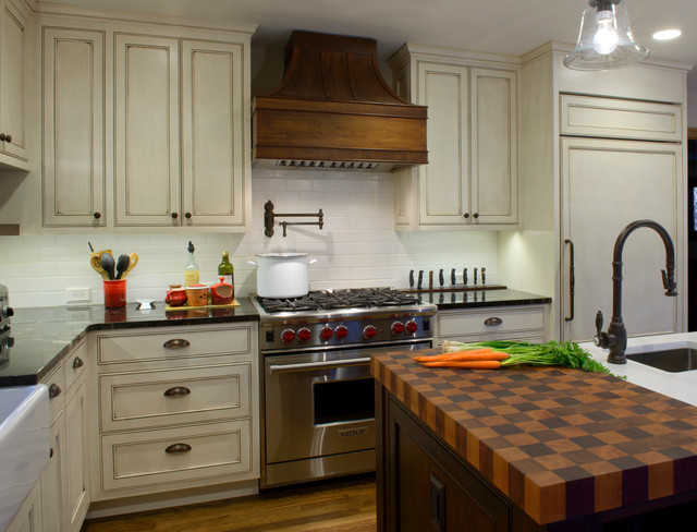 Nottingham Traditional Kitchen New York By HINGE Cabinetry Furn