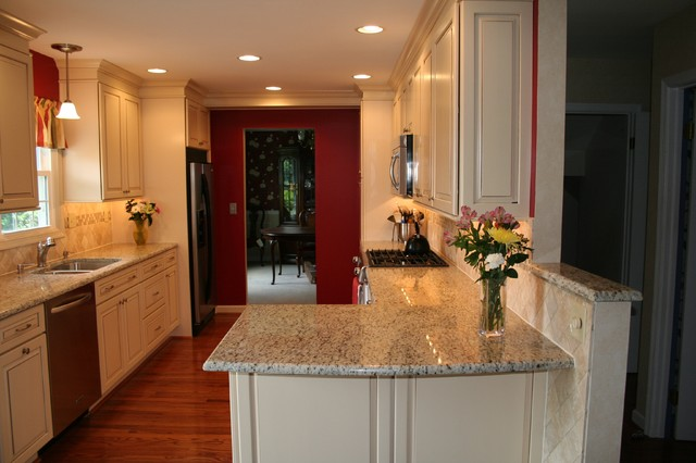 Nottingham MD French Country Kitchen Remodel Farmhouse Kitchen Baltimo
