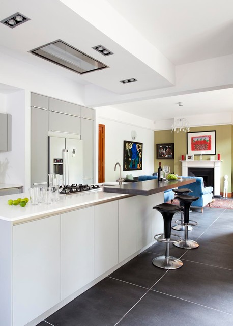 Nottinghill Contemporary Kitchen Belfast By Interior360