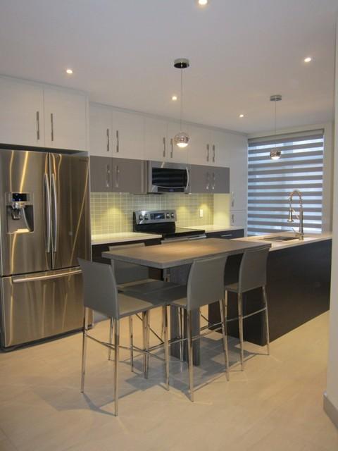 nun s island kitchen contemporary kitchen montreal