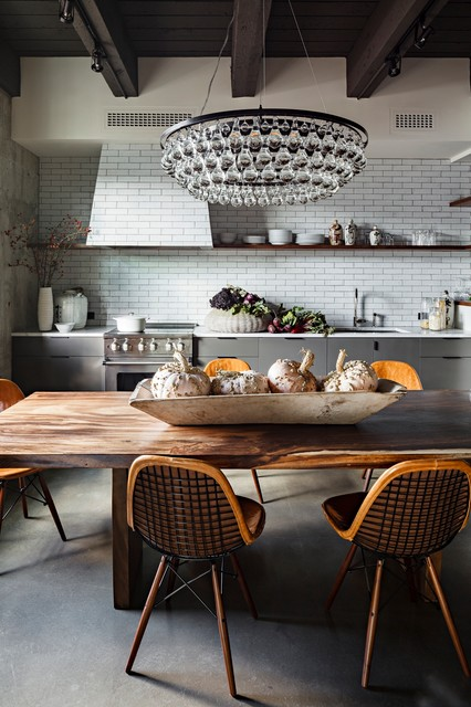 NW 13th Avenue Loft industrial-kitchen
