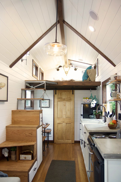 Nw Haven Farmhouse Kitchen Portland By Tiny Heirloom