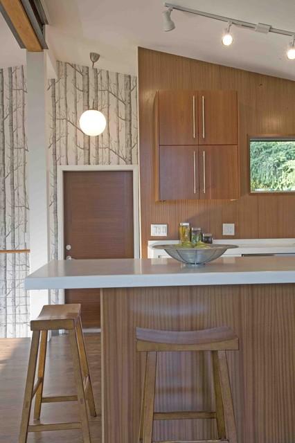 modern kitchen by Vanillawood