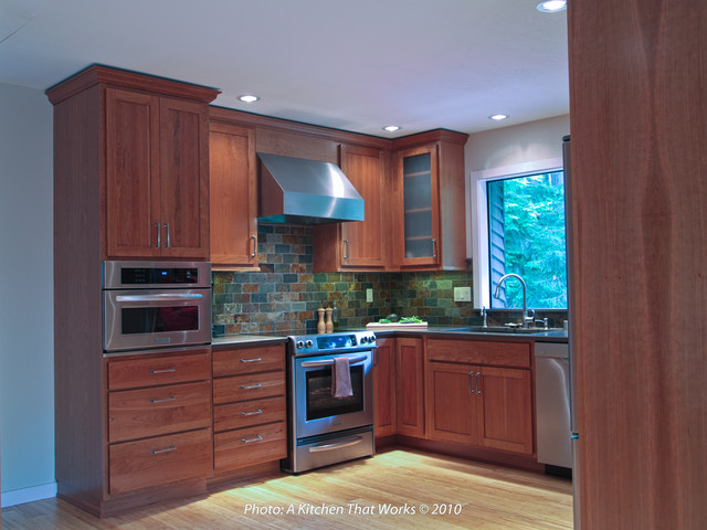 NW Splitlevel Kitchen Remodel Fusion Kitchen Seattle By A Classy Seattle Kitchen Remodeling Decor