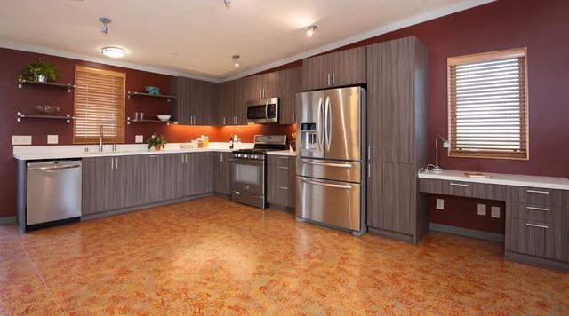 O Home Model contemporary-kitchen