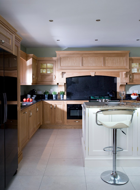 Oak and ivory for Traditional kitchens ireland