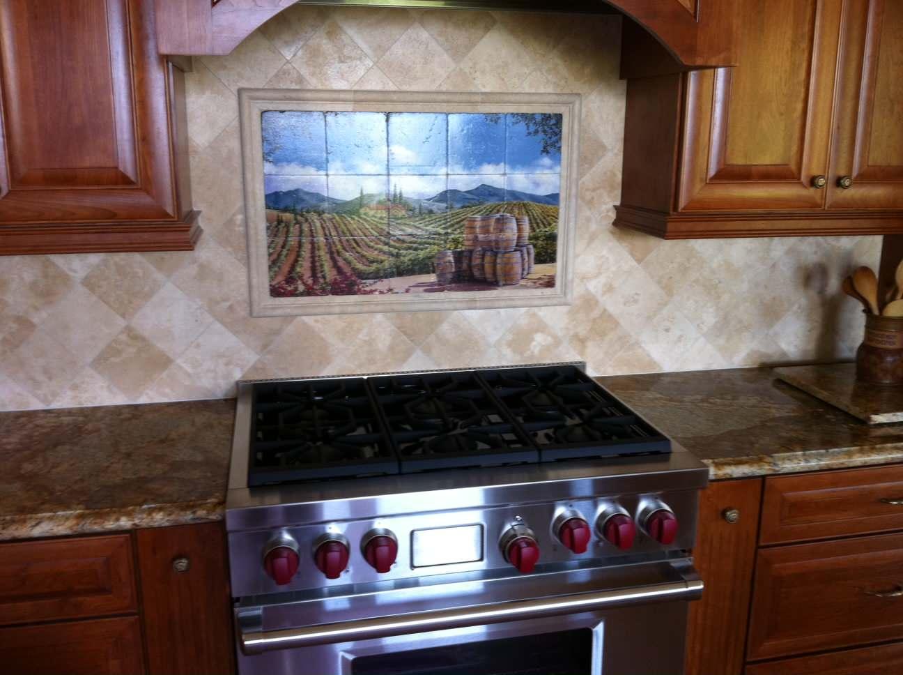 Kitchen Backsplash Murals Houzz