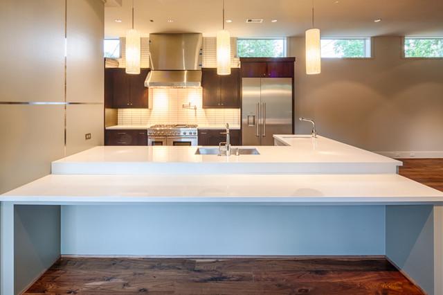 Oak Estates Rustic Contemporary Contemporary Kitchen Houston By Winfrey Design Build