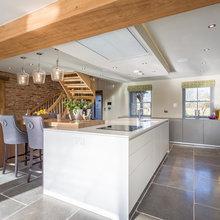 Oak Framed Countryside Home - bulthaup b3 kitchen