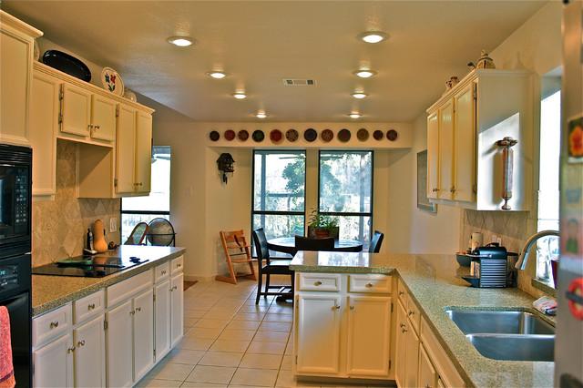 Oak Hill contemporary-kitchen