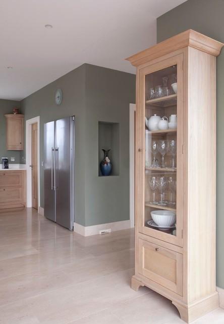Oak InFrame Kitchen transitional-kitchen