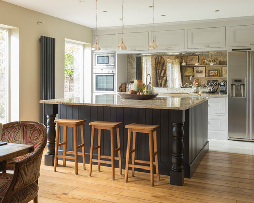 Eclectic Kitchen by South West Design-Build Firms Completion