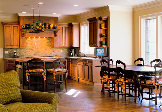 oakland county custom kitchen morning room traditional