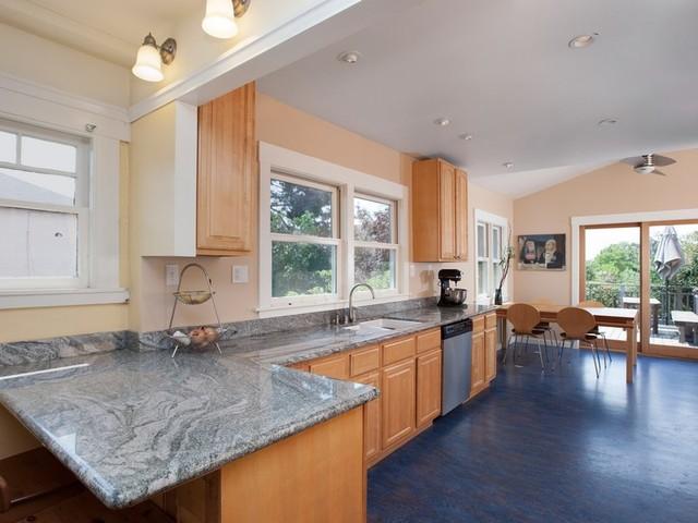 Oakland craftsman kitchen traditional kitchen san for Oakland kitchen design