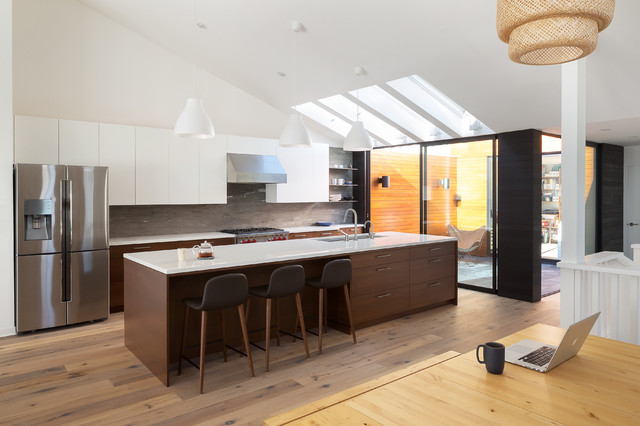 Oakland hills modern kitchen contemporary kitchen for Kitchen design oakland